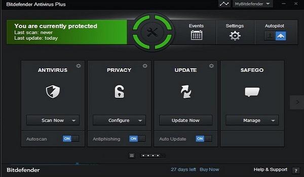 Phần mềm diệt virus Bitdefender bản quyền