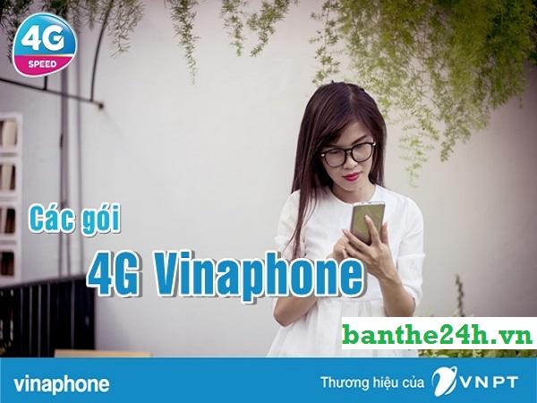 Tổng hợp các gói 4G 1 ngày Vinaphone